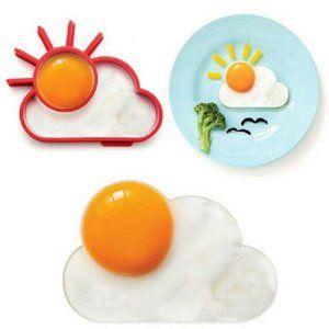 Sun Cloud Silicone Egg Mould
